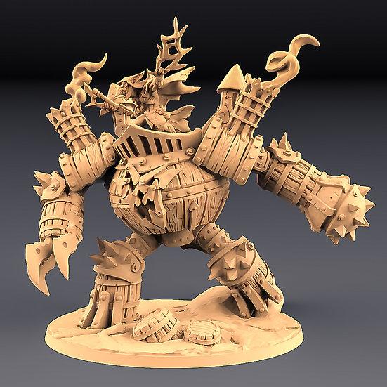 Sparksoot Scrap Golem (Epic Boss)