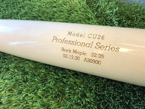 Dovetail Professional Series Wood Bat-CU26