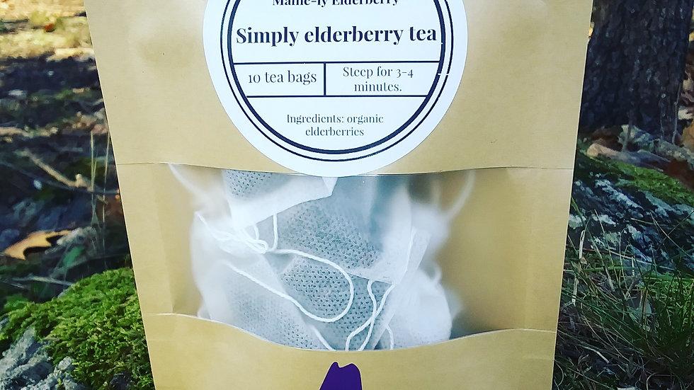 Simply elderberry tea bags