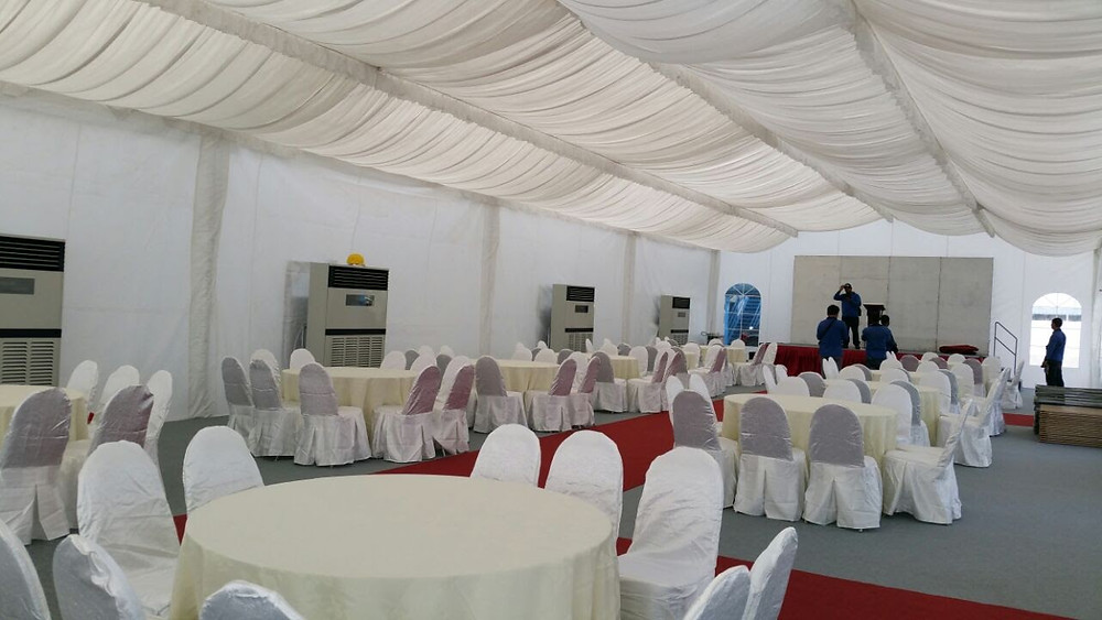 Marquee Setup for Event Hosting in Singapore
