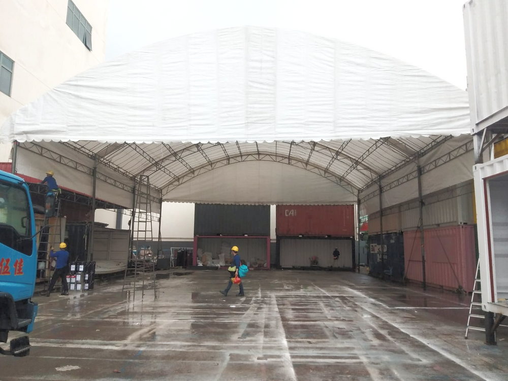 Dome Tentage for Storage in Singapore