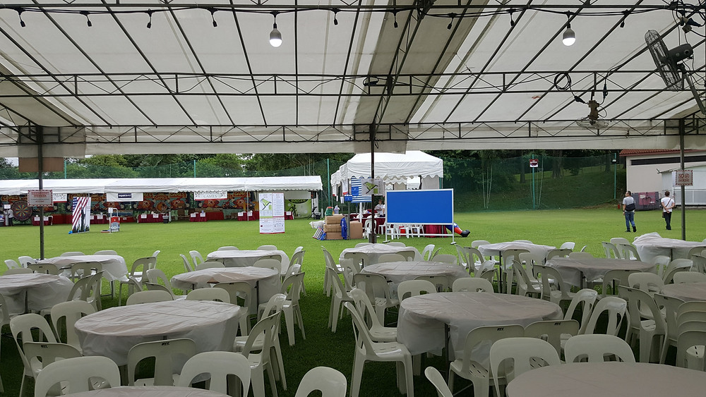 A Sports Carnival held outdoors in Singapore