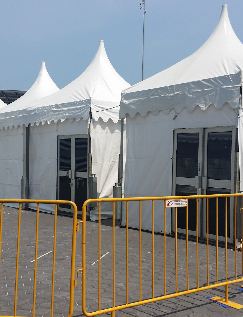 Full-Covered Gazebos are Available too