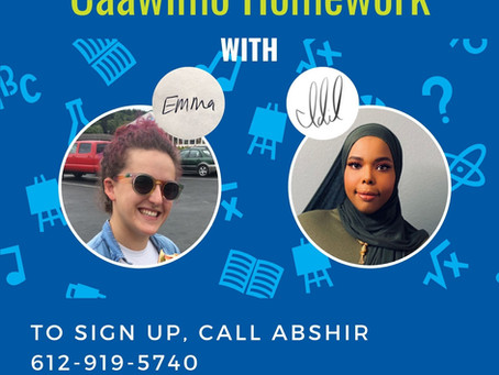Homework Help/Caawimo Homework Online with Emma and Idil
