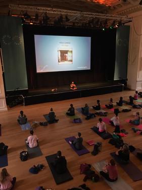 Braxton's Meditation at Edinburgh Wellbeing Festival