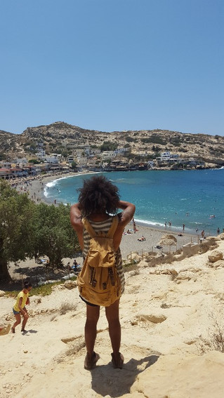 Crete Matala Hippie Festival