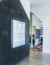 Historic Macon Foundation, Feature Wall and Custom Signage