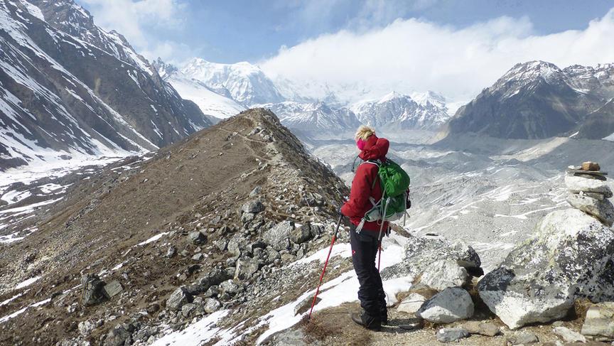 Gokyo, Himalaya, Nepal april 2015