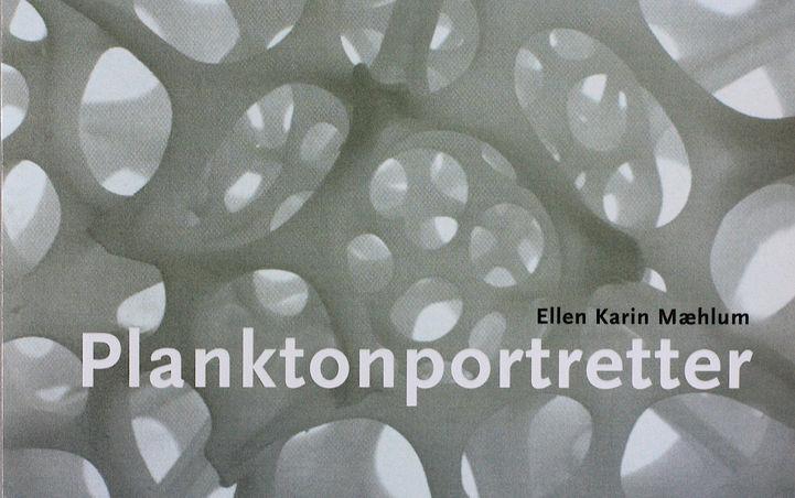 Katalog for serien Planktonportretter.