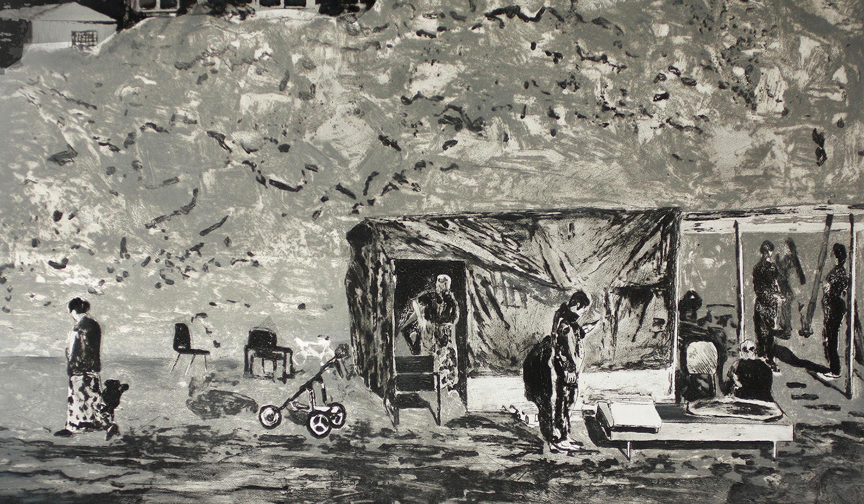 SHELTER - 69 x 124 cm