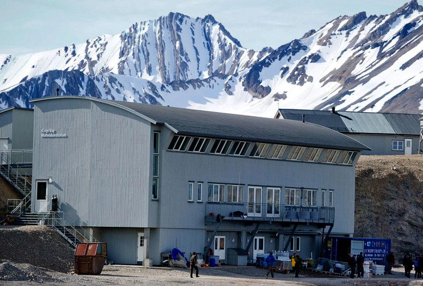 The Marine Laboratory in Ny Ålesund