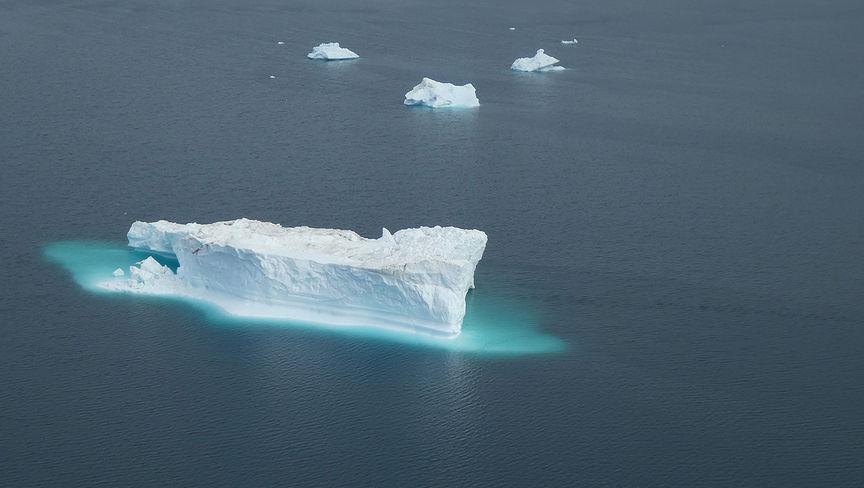 Isfjell.