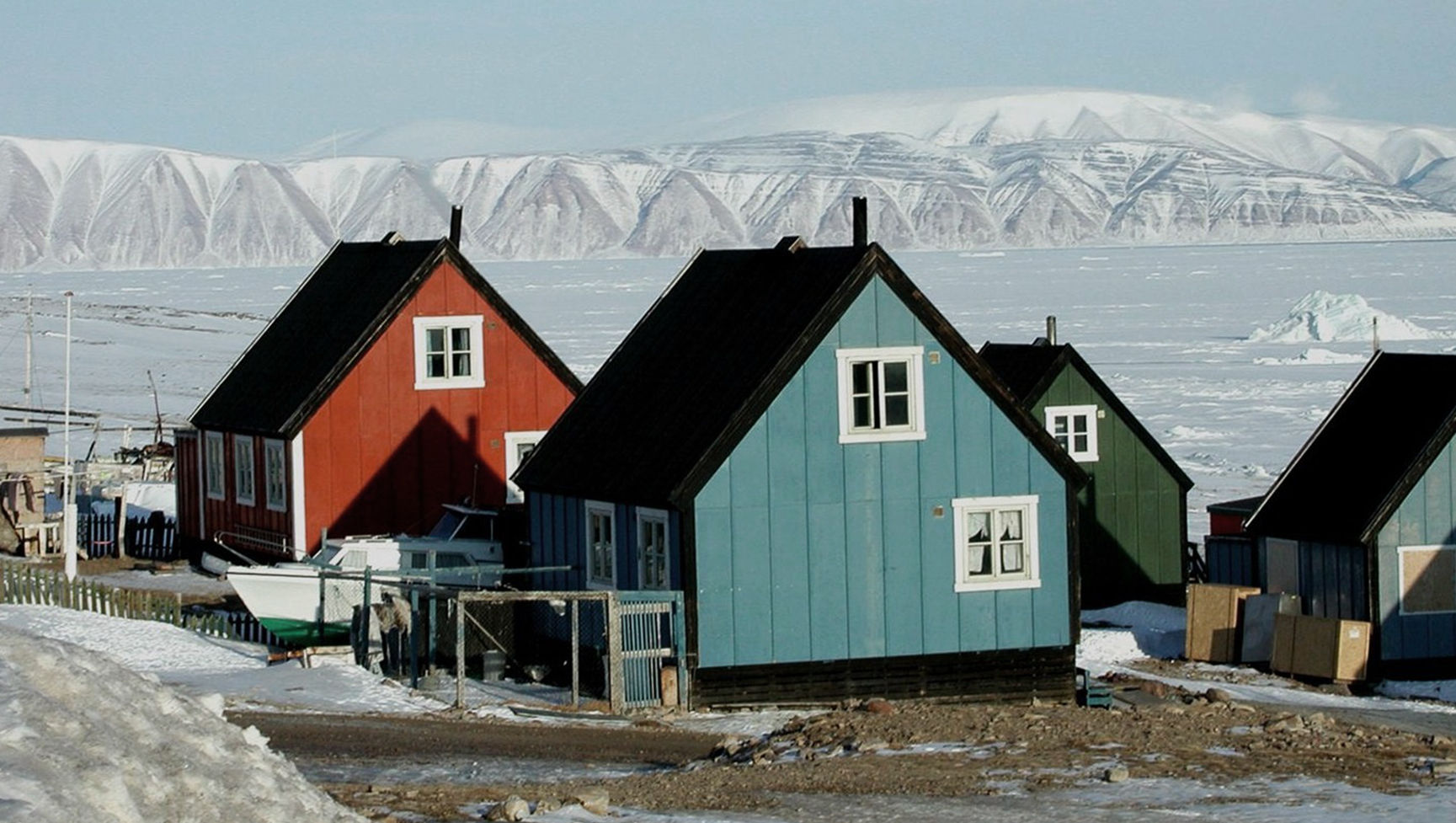 Hus Grønlandsbygd. Fotograf: ukjent.
