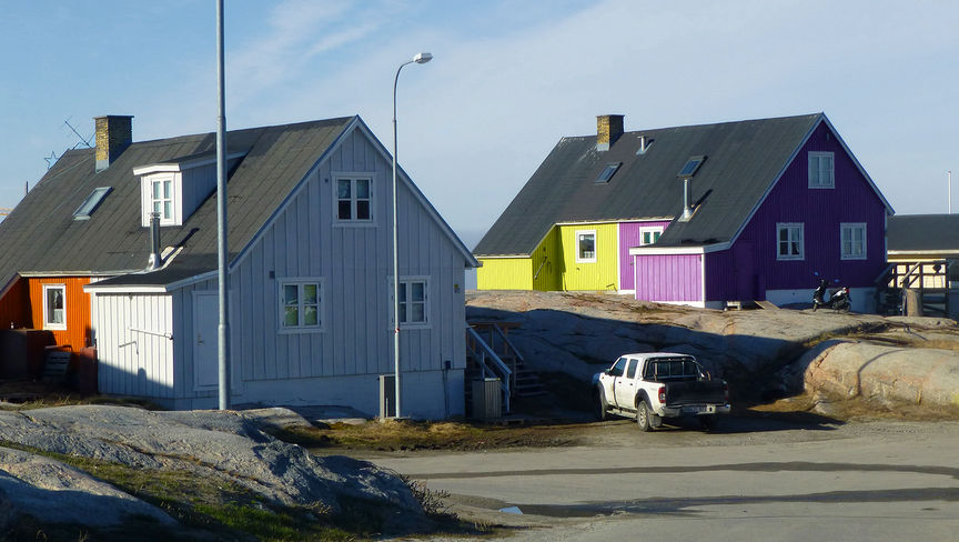 Hus i Ilullisat.