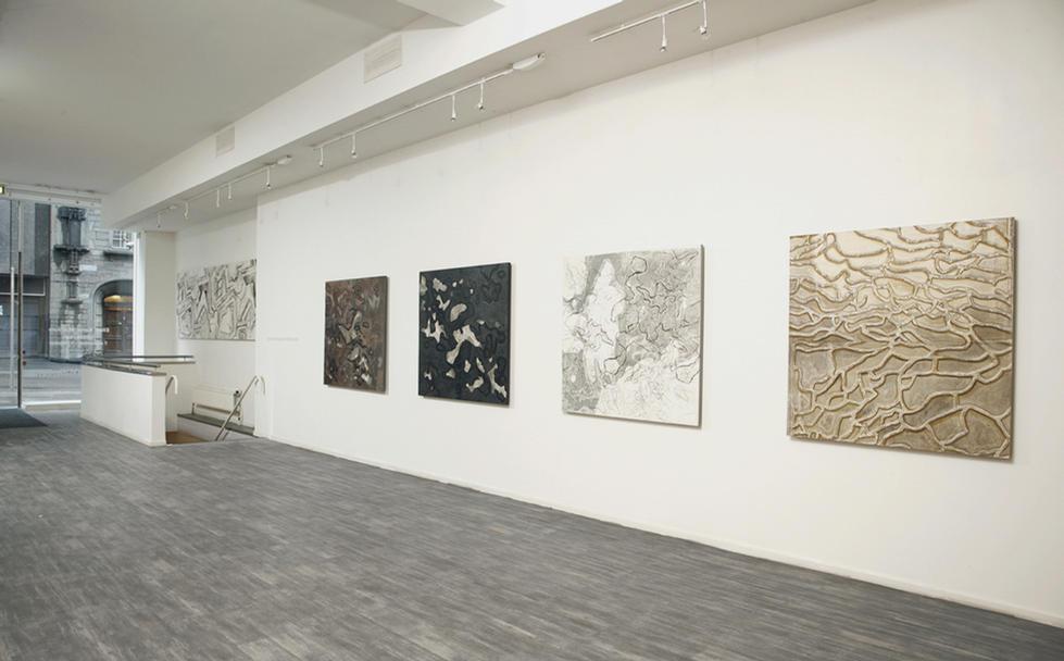 GEOPRINT, 120 x 118 cm, Paper and aluminum, 2010