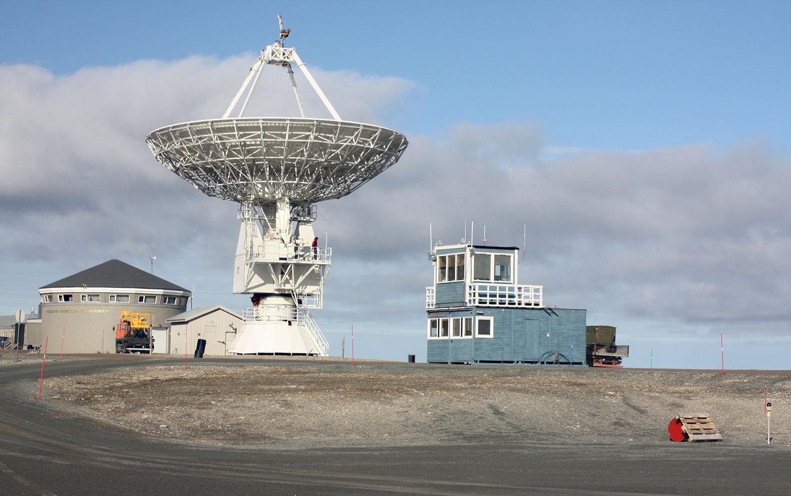 Flyplassen i Ny-Ålesund.