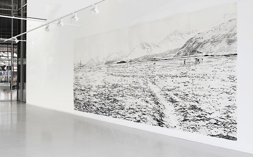 NY-ÅLESUND, 595 x 275 cm