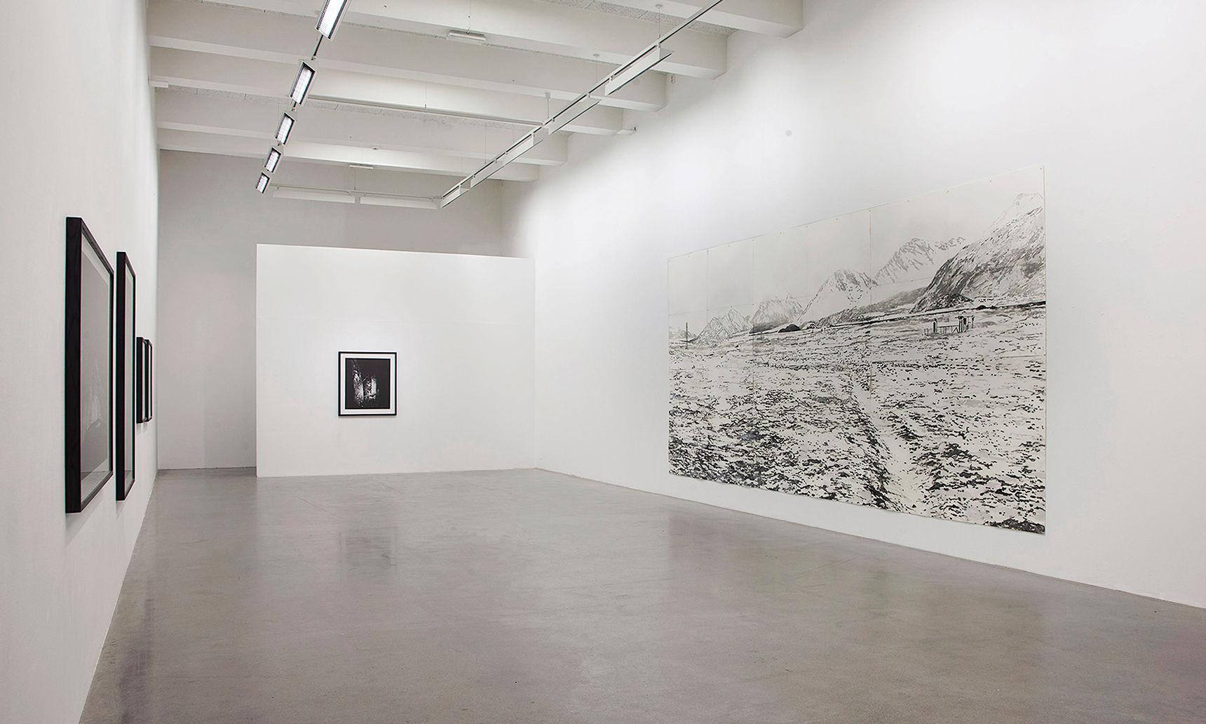 Trafo Kunsthall with Mattias Härenstam (framed works)