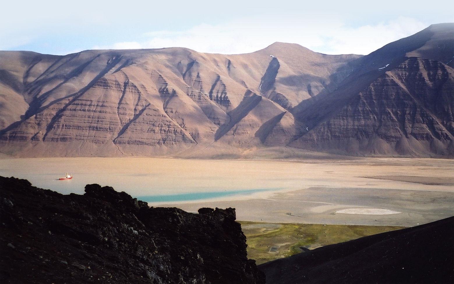 Med AMASE ekspedisjonen i Bockfjorden på Svalbard.