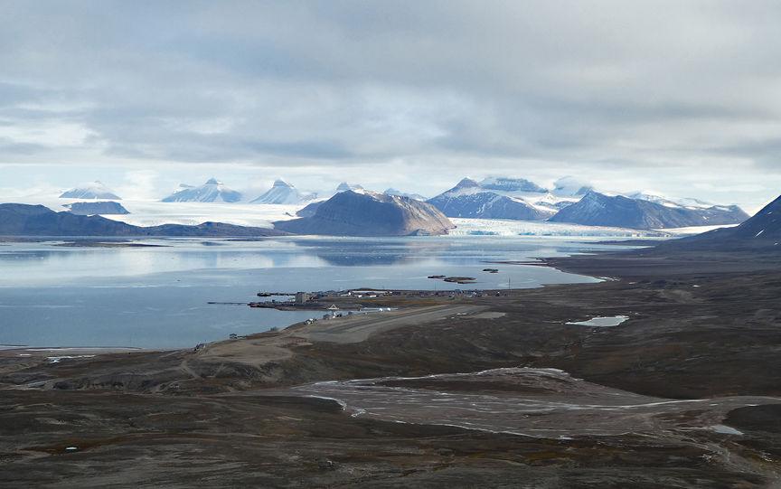 Ny Ålesund at Svalbard