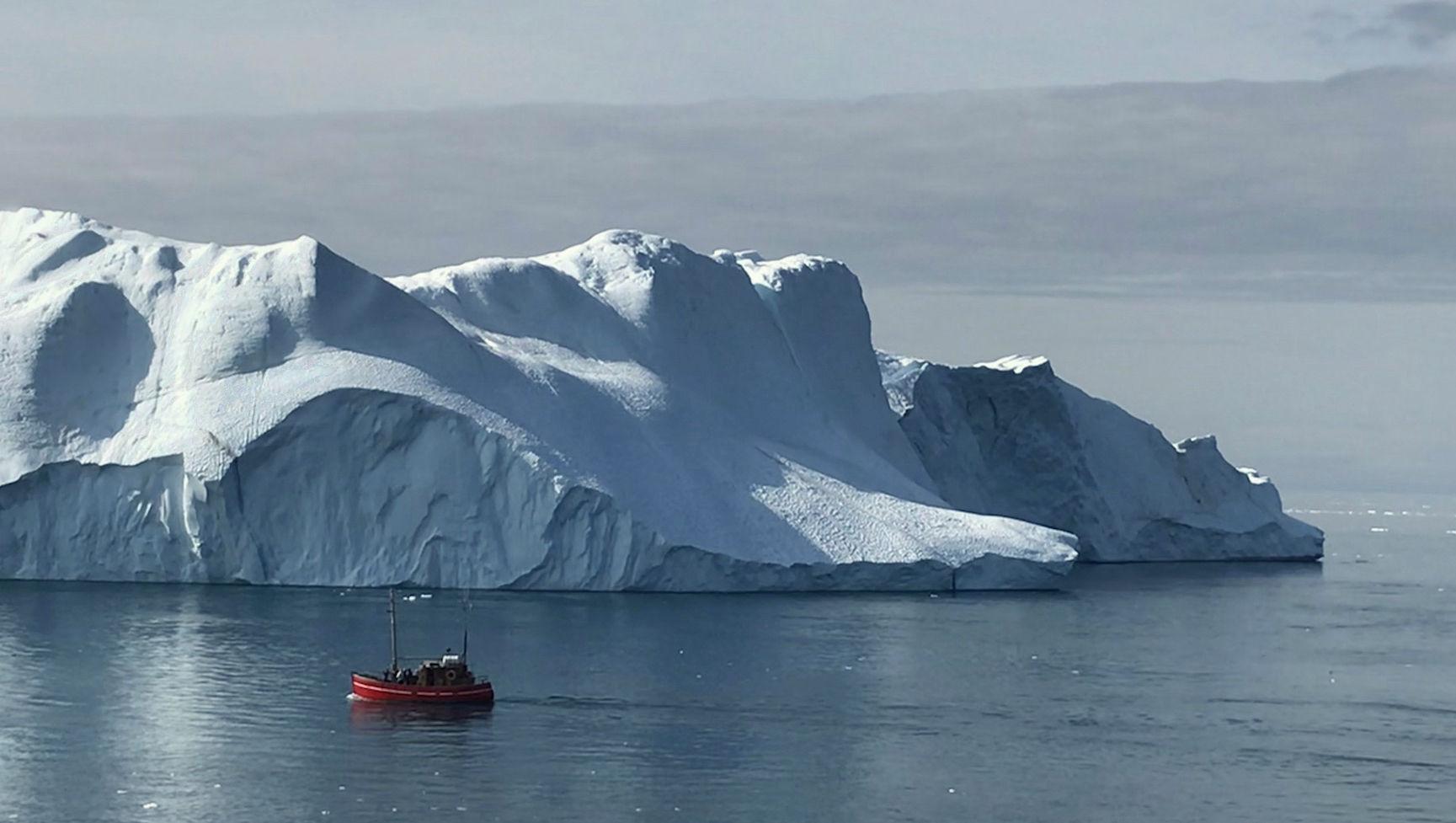 Kangia isfjord.
