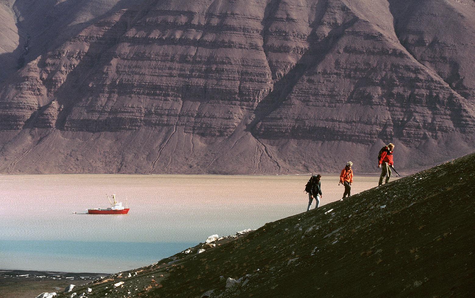 Med AMASE i Bockfjorden Foto: Kjell Ove Storvik