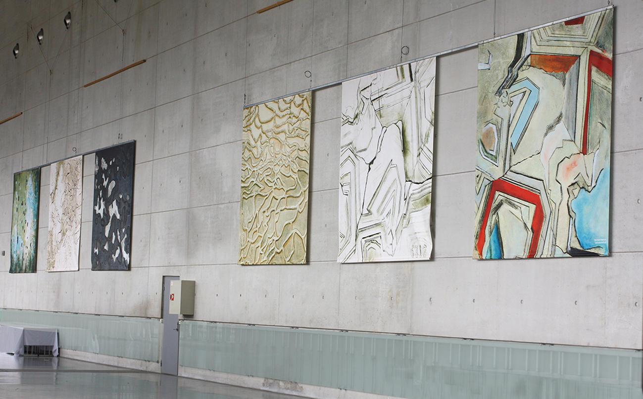 GEOPRINT 33 IGC, International Geological Congress, Lillestrøm à 340 x 280 cm, 2010