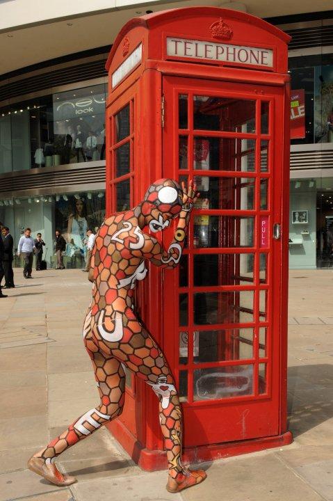 Rabarama a Londra