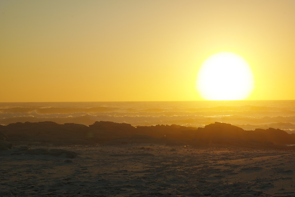 Sunset West Coast South Africa Dec 2018