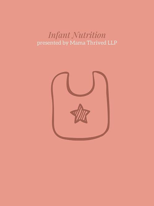 Infant Nutrition Online Class