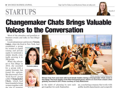 SDBJ Changemaker Chat Article