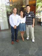 MARC Quan Tran with PI James Olzmann and grad. mentor Milton To.jpg