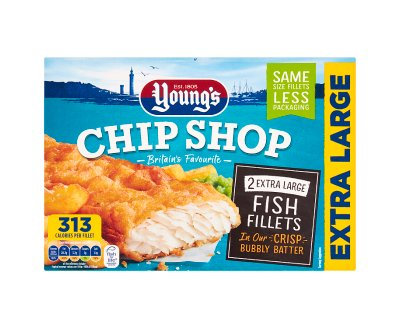 Youngs XL Fish Fillets