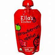 Ella's Kitchen Strawberries and Apples