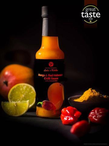 Leela's Kitchen Mango & Red Habenero Chilli Sauce with Lime