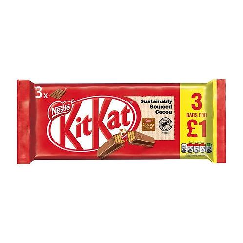 KitKat 3x 4 Finger Bars