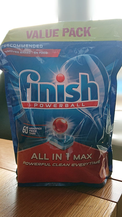 Finish Powerball All in One 60 Tablets