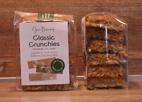 Jan Brown's Classic Crunchies (flapjack but not flapjack)