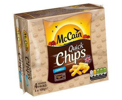 McCain Micro Chips Crinkle 4's
