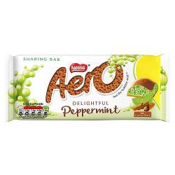 Aero Peppermint 100g Bar