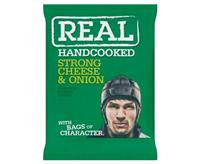 Real Strong Cheese & Onion Crisps