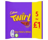 Cadbury's Twirl 5 Pack