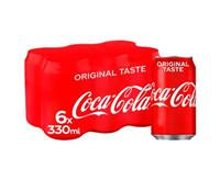 Coca Cola 6 pack 330ml Cans