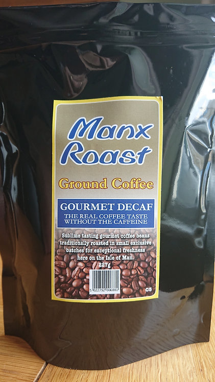 Manx Roast Decaff Ground Coffee