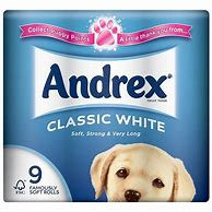 Andrex 9 Pack