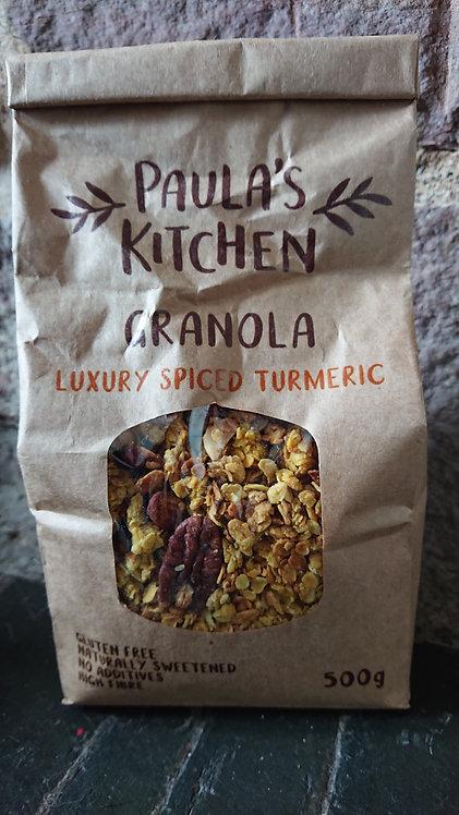 Paula's Kitchen Granola Luxury Spiced Turmeric