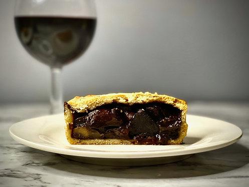 Frozen Vegan Mushroom & Red Wine Gravy Pie