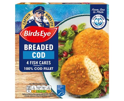 Birds Eye Cod Fish Cakes