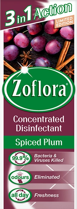 Zoflora Disinfectant Assorted Spiced Plum 120ml