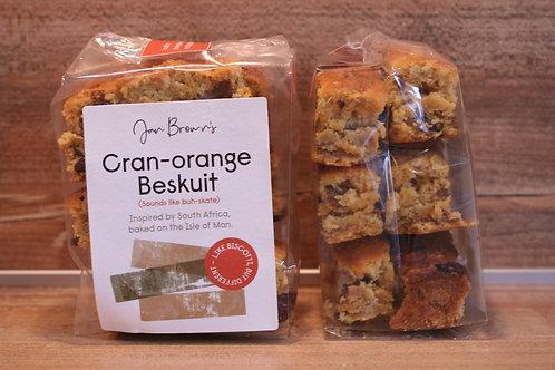 Jan Brown's Cranberry and Orange Beskuit